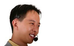 Customer Service Representativ Royalty Free Stock Photos