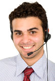 Customer service representativ Stock Photo