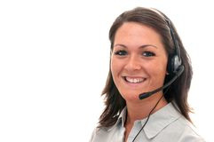 Customer Service Representative Stock Photography