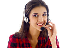 Customer Service Representative Royalty Free Stock Photo