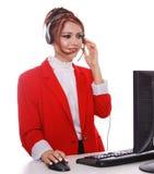 Customer Service Representative Royalty Free Stock Image