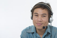 Customer service representative 2 Royalty Free Stock Image