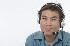 Customer service representative 2 Royalty Free Stock Image
