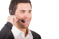Customer service representative. Royalty Free Stock Images