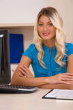 Customer service representative Stock Image