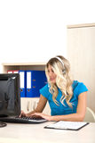Customer service representative Royalty Free Stock Photography