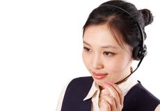 Customer Service Representative Royalty Free Stock Photos
