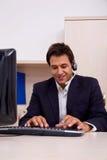 Customer service representative Stock Photography