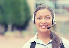 Customer service representative, call center agent Royalty Free Stock Photography