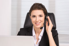 Customer service representative. Royalty Free Stock Photo
