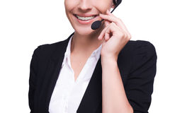 Customer service representative. Stock Photos