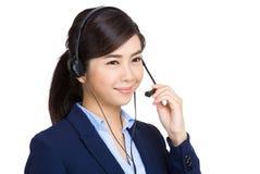 Customer service representative Stock Photo