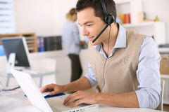 Customer service representative Stock Photos