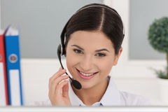 Customer service representative. Royalty Free Stock Photos