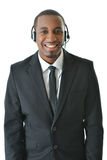 Customer Service Representative. Standing and smiling Stock Photography