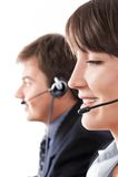 Customer Service Representatives Stock Photo