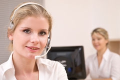 Customer service representatives Royalty Free Stock Photo