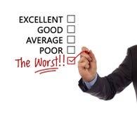 Free Customer Service Satisfaction Survey Stock Photography - 33770452