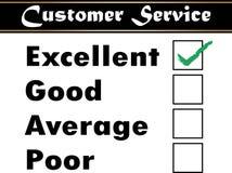 Customer service. Satisfaction survey - vector Stock Photography