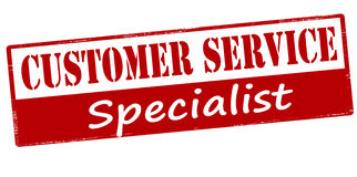 Customer service specialist Royalty Free Stock Photography