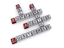 Customer service and support Stock Images