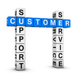 Customer service and support Royalty Free Stock Image