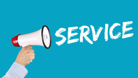 Customer service support help assistance contact business concep Royalty Free Stock Photography