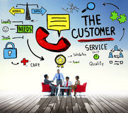 Customer Service Support Solution Assistance Aid Concept Royalty Free Stock Photography