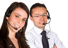 Customer service team Stock Photography