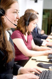 Customer service team Royalty Free Stock Photo
