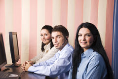 Customer service teamwork Royalty Free Stock Photo