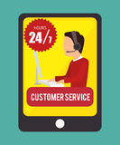 Customer service and technical support Royalty Free Stock Image
