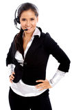 Customer service woman Royalty Free Stock Photos