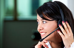 Customer service woman Royalty Free Stock Photography