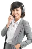 Customer service worker Royalty Free Stock Photos