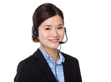 Customer services agent Royalty Free Stock Image