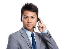 Customer services agent Stock Photography