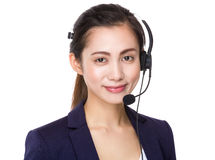 Customer services assistant Royalty Free Stock Images