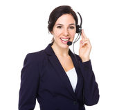 Customer services assistant Stock Images