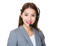 Customer services assistant Royalty Free Stock Image