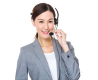 Customer services consultant Royalty Free Stock Image