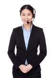 Customer services executive Royalty Free Stock Photography
