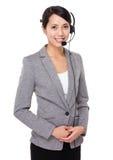 Customer services executive Royalty Free Stock Photo