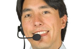 Customer services man - andres Royalty Free Stock Photo