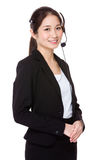 Customer Services officer Stock Photos