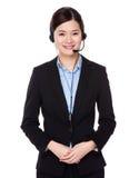 Customer services officer Stock Photos