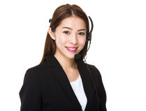 Customer services officer Stock Photography