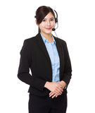 Customer services officer Stock Images