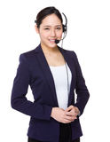 Customer services officer Royalty Free Stock Photos
