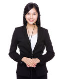 Customer services operator Royalty Free Stock Photography